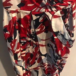 Strapless Zip Up BodyCon Dress